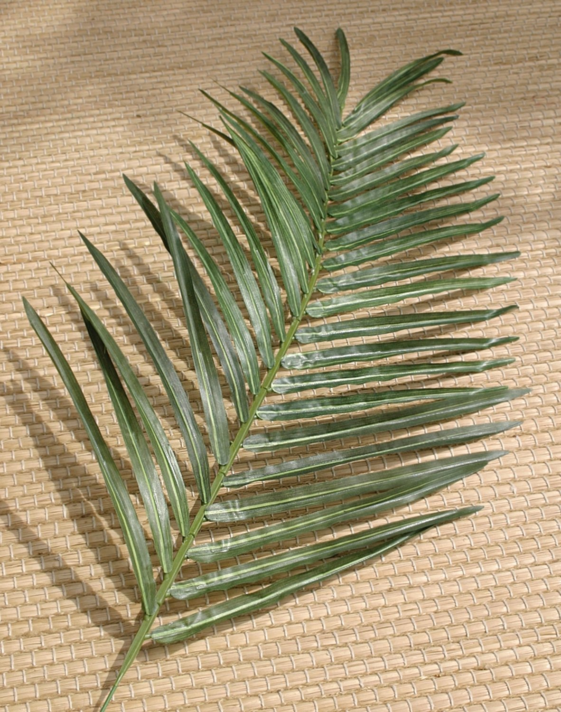Künstlicher Arecapalmen Zweig, 95 cm, grün