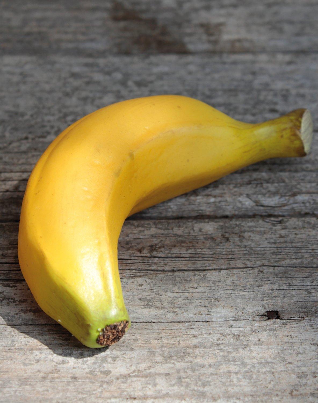 Künstliche Banane, 13 cm, gelb