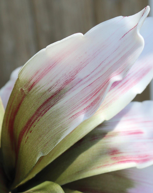 Künstliche Soft flower 'Agave', 90 cm, rosa-grün