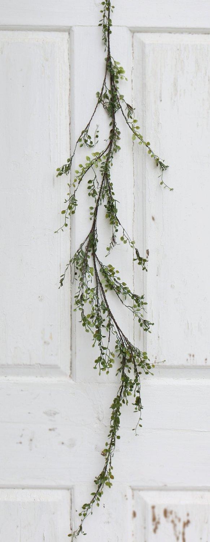 Künstliche Blättergirlande, 120 cm, grün