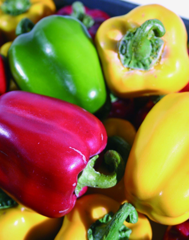 Künstliche Paprika, 9 cm, gelb