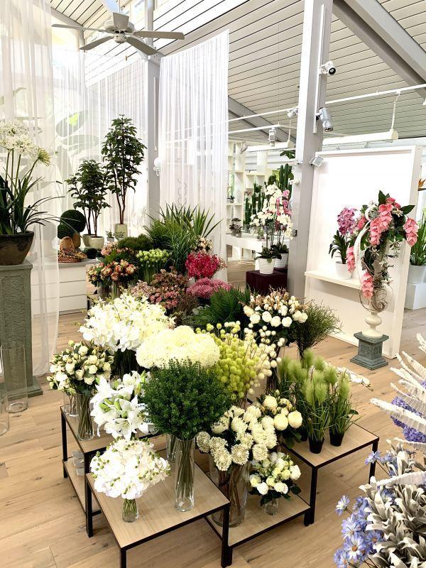 Kunstblumen Shop Ausstattung mit H.Andreas