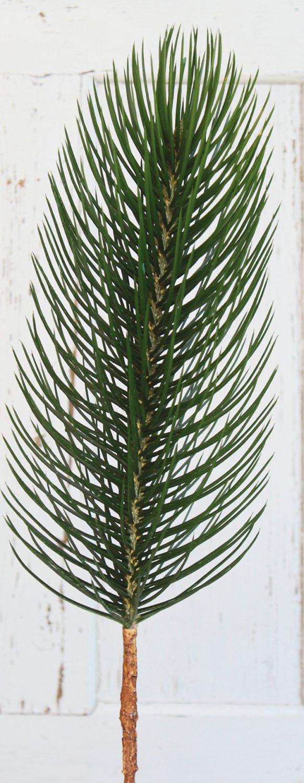Künstlicher Dekozweig, 1-fach, 91 cm, grün