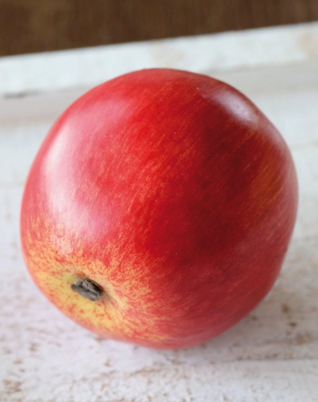 Künstlicher Apfel, 7 cm, rot