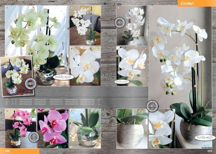 Kunstpflanzen Katalog 2020 - Orchideen von H.Andreas
