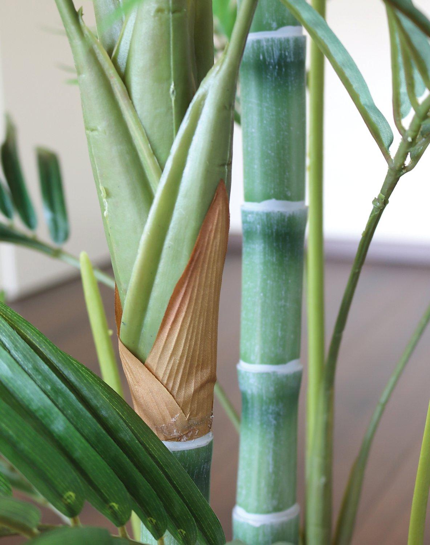 Künstliche Bambuspalme, getopft, 120 cm, grün