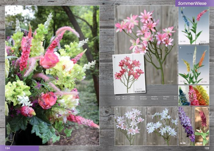Kunstpflanzen Katalog 2017 - Sommerwiese von H.Andreas