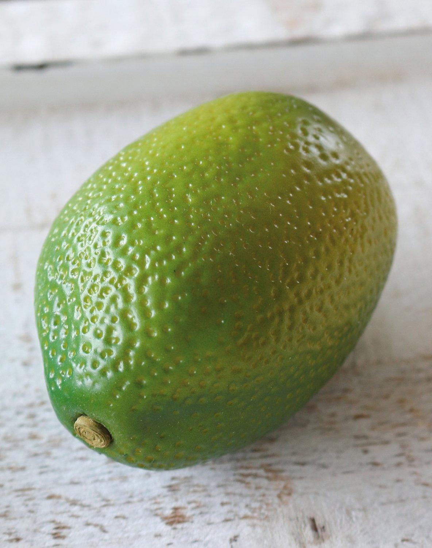 Künstliche Limette, 8 x 5 cm, grün