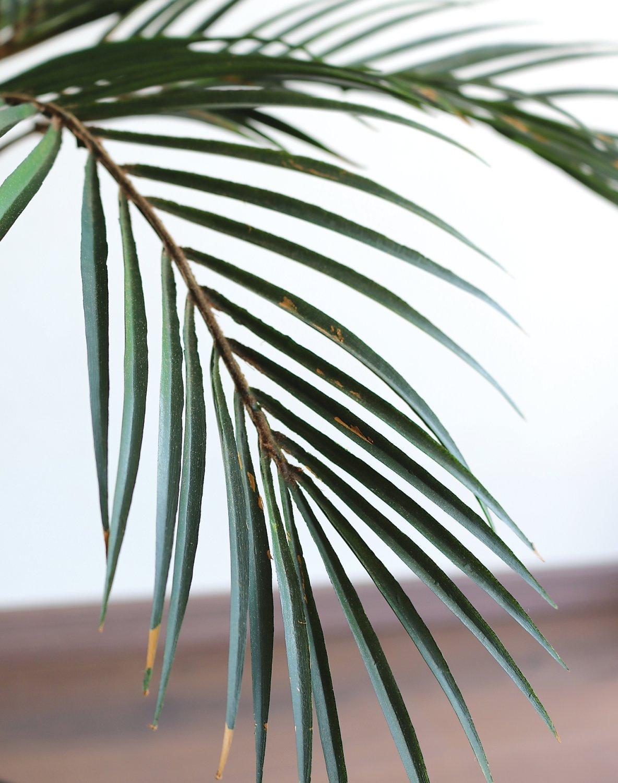 Künstliche Palme, getopft, 90 cm, grün