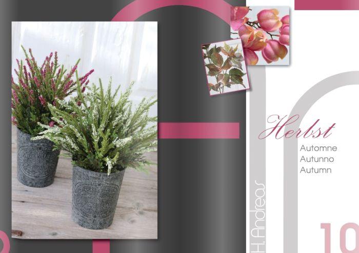 Kunstpflanzen Katalog 2017 - Herbst von H.Andreas