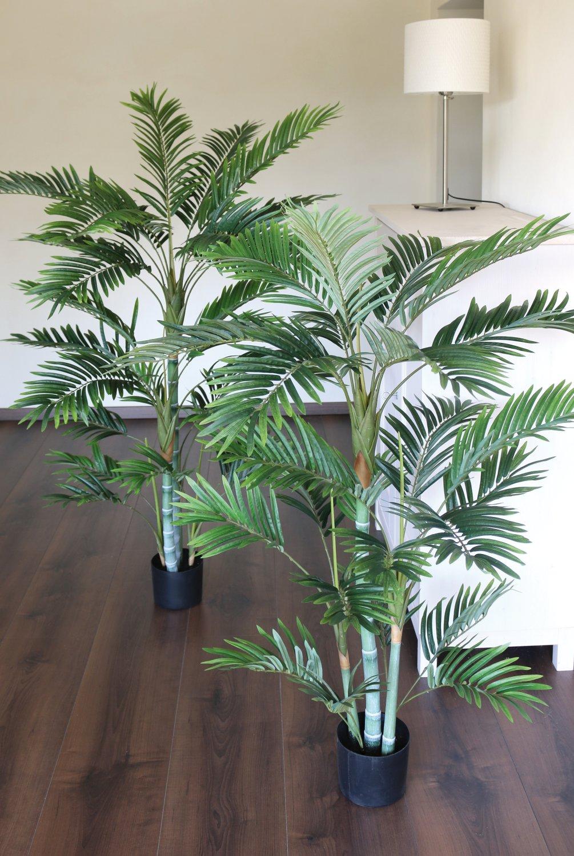 Künstliche Bambuspalme, getopft, 150 cm, grün