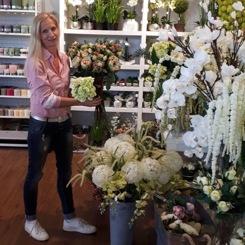 Kunstpflanzen Floristin bei H.Andreas