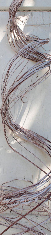 Künstliche Dekospirale, Ø 25 cm, natur