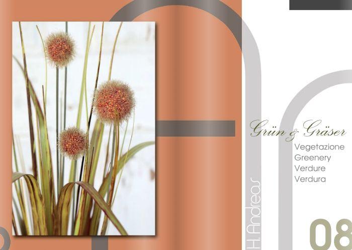 Kunstpflanzen Katalog 2020 - Gruen und Graeser von H.Andreas