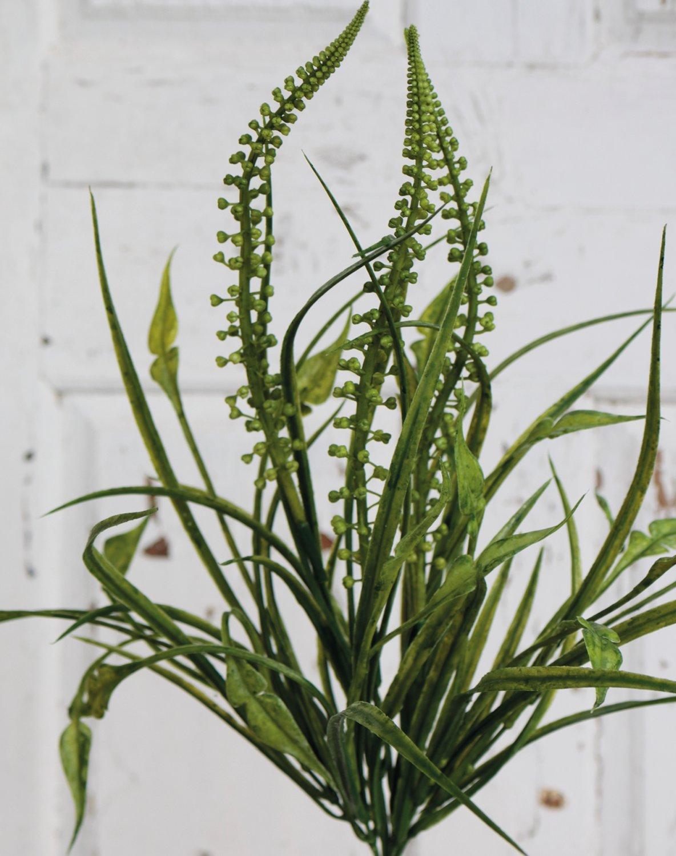 Künstlicher Grasbusch, 52 cm, grün