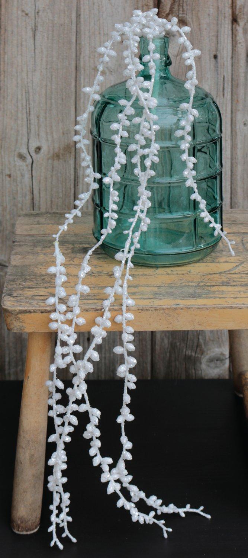 Künstliche Dekogirlande, 73 cm, weiß