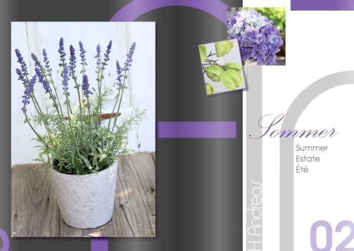 Kunstpflanzen Katalog 2017 - Sommer von H.Andreas
