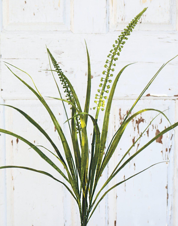 Künstlicher Grasbusch, 83 cm, grün