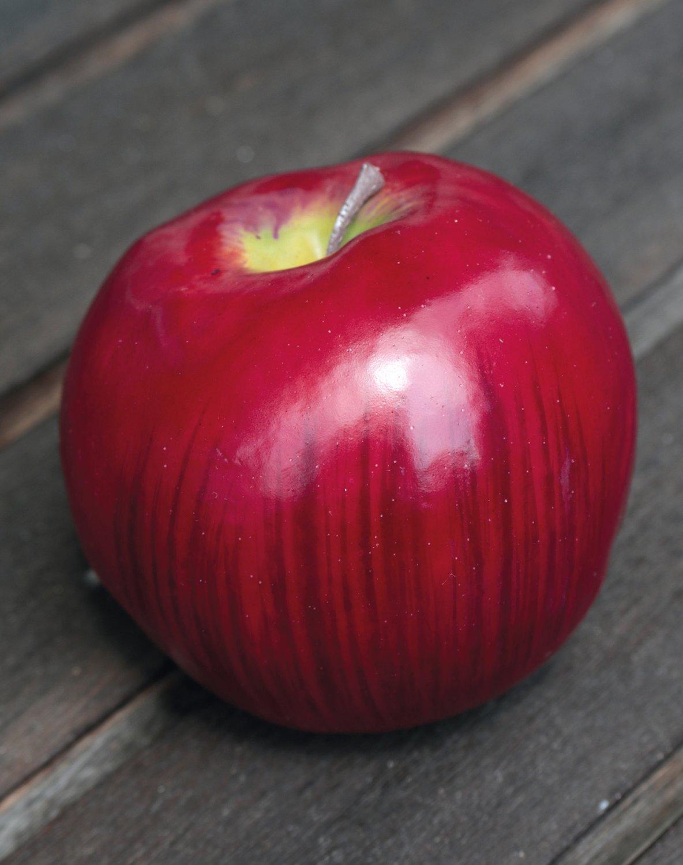 Künstlicher Apfel, 8 cm, rot