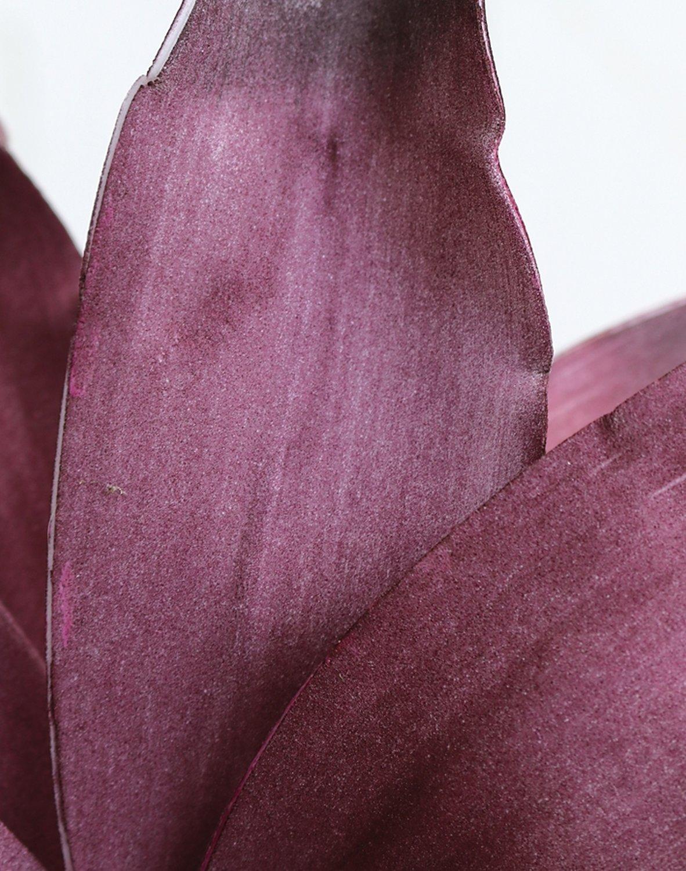 Künstliche Soft flower 'Agave', 90 cm, dunkelviolett