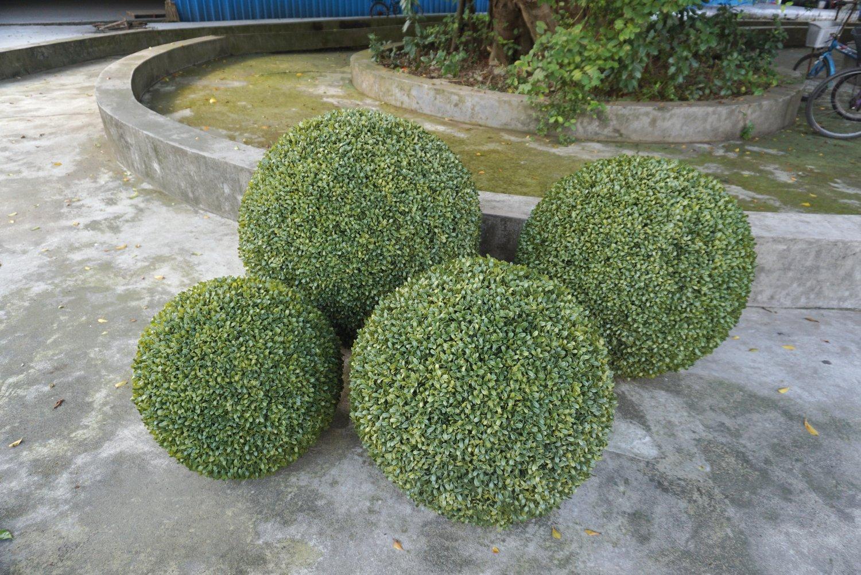 Künstliche Buchsbaum Kugel, Ø 82 cm, grün