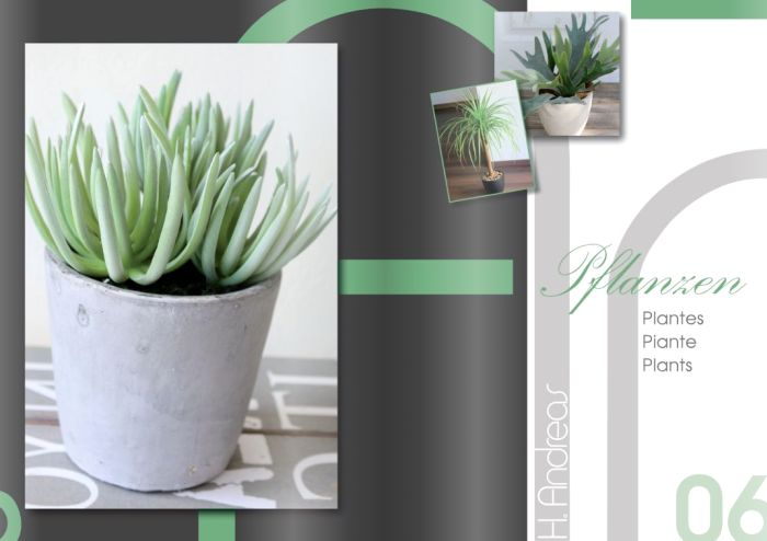Kunstpflanzen Katalog 2017 - Pflanzen von H.Andreas