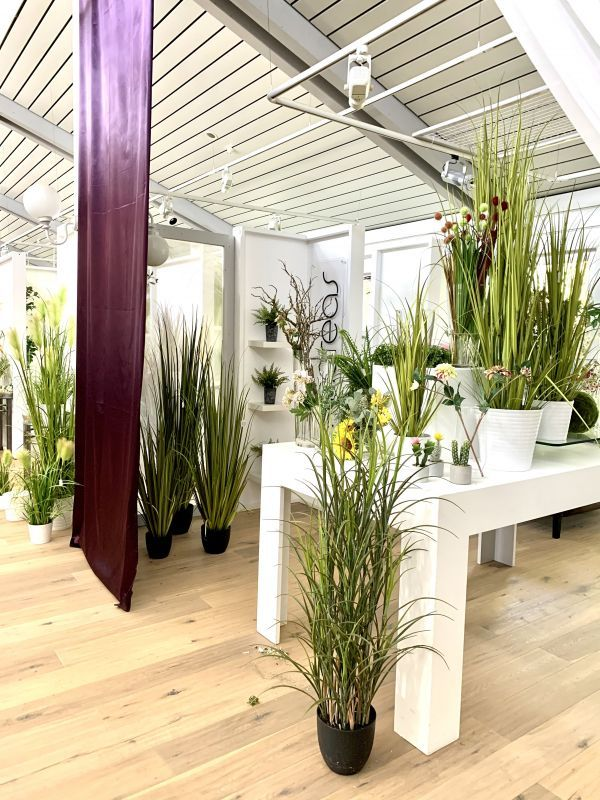 Kunstgraeser im H.Andreas Showroom entdecken